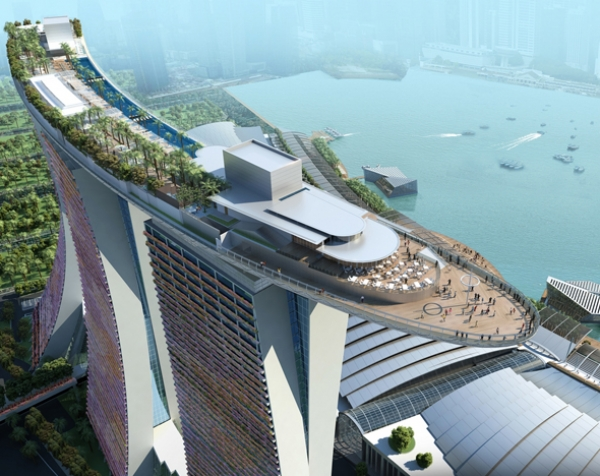 Отель Marina Bay Sands 5* Сингапур